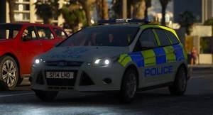 Police Scotland 2014 Ford Focus Estate Irv