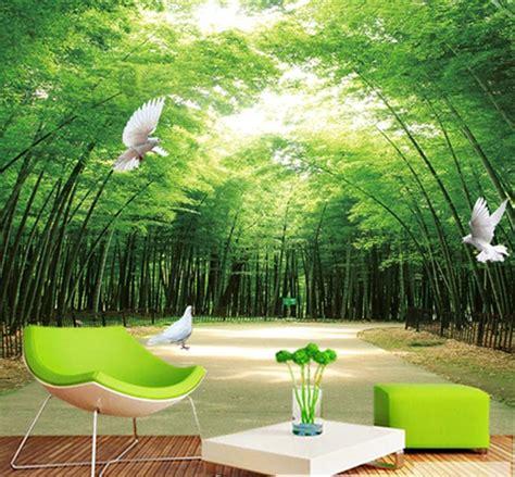 jual wallpaper wall paper dinding custom     dimensi