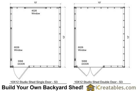 floor plans for sheds 10x12 studio shed plans s3 10x12 office shed plans