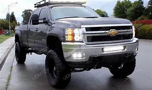 120w High Power Led Light Bar For Chevrolet Silverado 2500hd