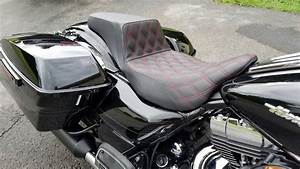 Custom Saddlemen Step Up Seat Harley Touring Overview