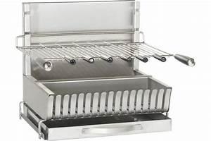 Barbecue A Poser : grill poser inox forge adour ~ Melissatoandfro.com Idées de Décoration