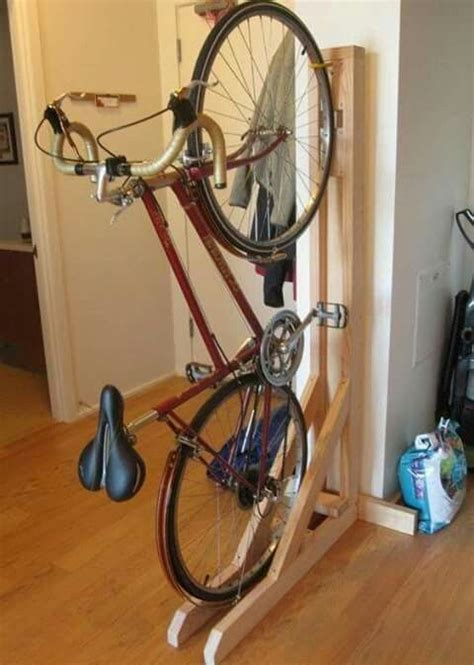 vertical bike rack for apartment pin by otto ariel on porta bisicletas