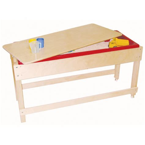 how to sand a table sand water table with lid shelf educator 39 s depot