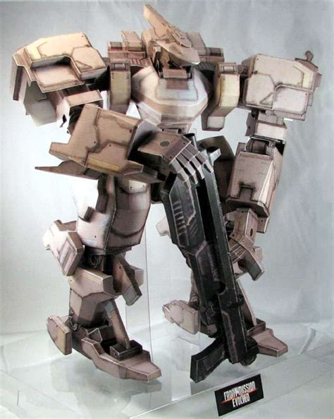 front mission evolved papercraft zephyr wanzer