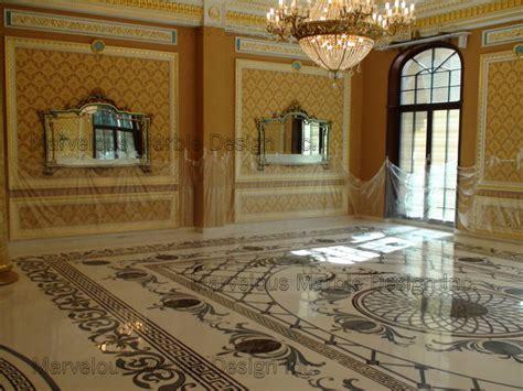Luxury Custom Marble Floor