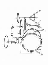 Coloring Pages Instruments Musical Instrument Jazz Muziek Kleurplaten Muziekinstrumenten Drum Patterns Fun Printable Movement Sheets Van Adult Notes Worksheets Craft sketch template