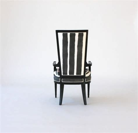 painted high back arm or dining chair for sale at 1stdibs