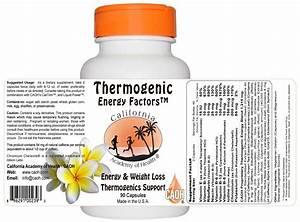 Thermogenic Energy Factors