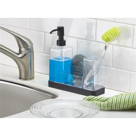 dish soap dispenser for kitchen sink interdesign forma kitchen soap dispenser sponge