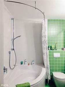 Duschvorhangstange Für Badewanne : duschvorhangstange aus edelstahl cns f r badewanne dusche ~ Markanthonyermac.com Haus und Dekorationen