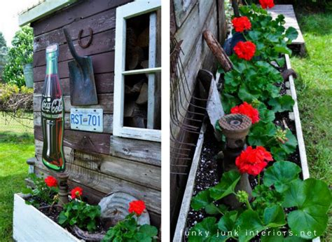 Creating Garden Art With Junkfunky Junk Interiors