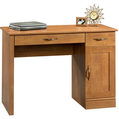 Mainstays Computer Desk by Mainstays Cardinal Hill Computer Desk Hazelwood Finish