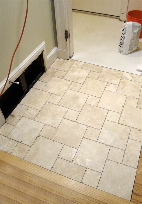 Bathroom Floor Tile Patterns Ideas by Enjoyable Travertine White Porcelain Bathroom Floor Tile