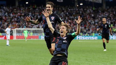 argentina   croatia world cup russia  match report