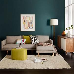 17 meilleures idees a propos de canapes gris fonce sur for Bleu canard avec quelle couleur 17 quelle couleur pour un salon 80 idees en photos