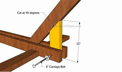 Hammock Diy Stand Plans Wooden Shed Woodworking