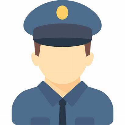 Police Icon Policeman Officer Uniform Icons Politieagent