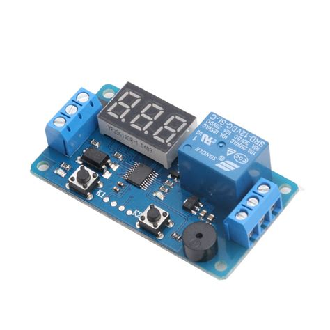 Display Led Timer Relay Programmable Board Delay