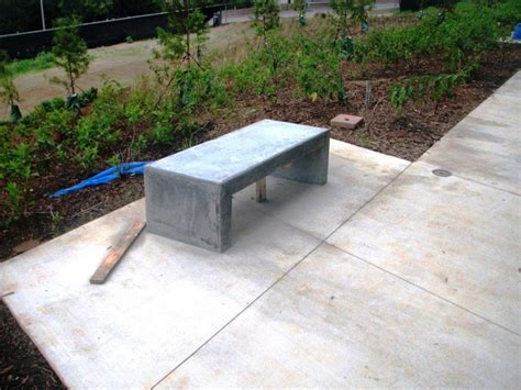concrete garden bench learn how to build your own concrete garden bench diy