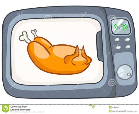 dessin animé de cuisine micro onde à la maison de cuisine de dessin animé images