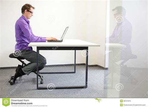 ergonomics how do you remember to sit up