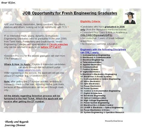 freshers tcs cus for freshers procedure to