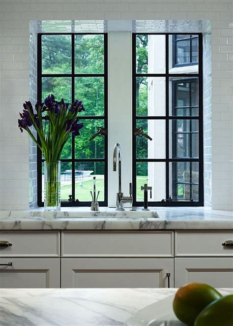 kitchen remodel windows flush  counter  inspired room