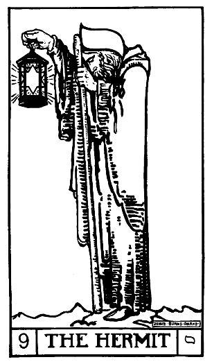 The Hermit tarot card | Tarot: Hermit in 2019 | Tarot card