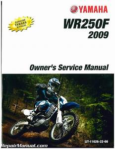 2009 Yamaha Wr250f Motorcycle Owners Service Manual