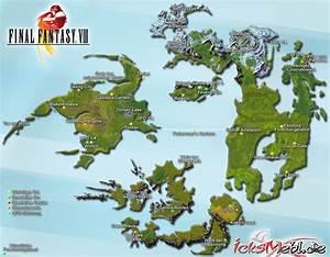 Weltkarte Final Fantasy VIII Icksmehlde