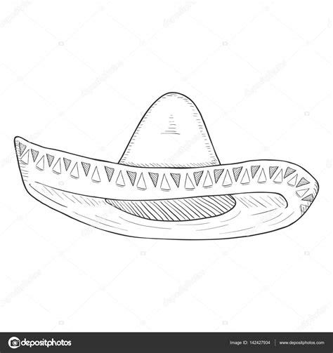 como dibujar un sombrero mexicano como dibujar un sombrero mexicano sombrero mexicano dibujo