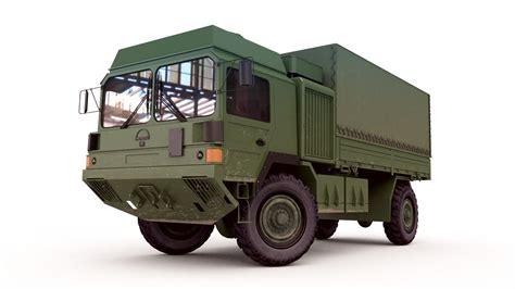 Man Military Truck 3D   CGTrader
