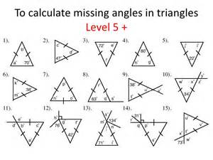 Complementary And Supplementary Angles Worksheet Pdf Triangles Identifying And Finding Missing Angles