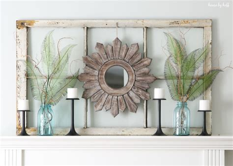 Decorating Ideas Using Window Frames ideas for decorating with windows window frame