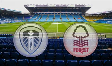 Leeds vs Nottingham TV channel and live stream - how to ...