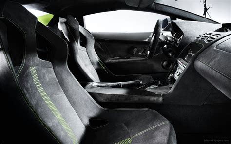 lamborghini gallardo lp   superleggera interior