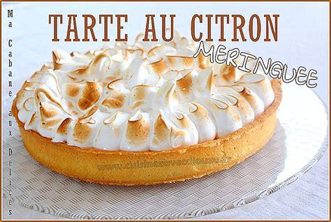 recette de cuisine de a à z tarte au citron facile recettes faciles recettes