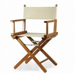 Sedia regista in legno verniciato Regista P ArredaSì