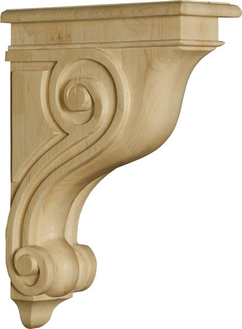 Wooden Corbel by Florence Bar Corbel