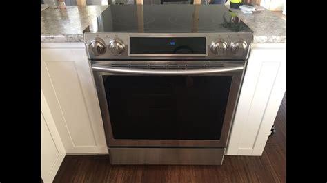 samsung nefss slidein electric stove  comment