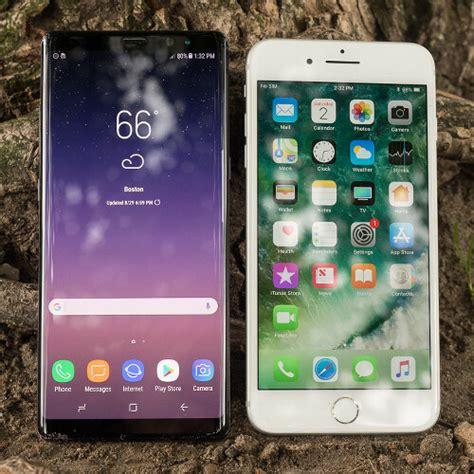 Samsung Galaxy Note 8 vs Apple iPhone 7 Plus - PhoneArena
