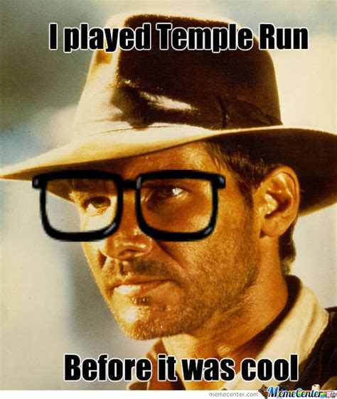 hipster indiana jones by zombies eat pedos meme center