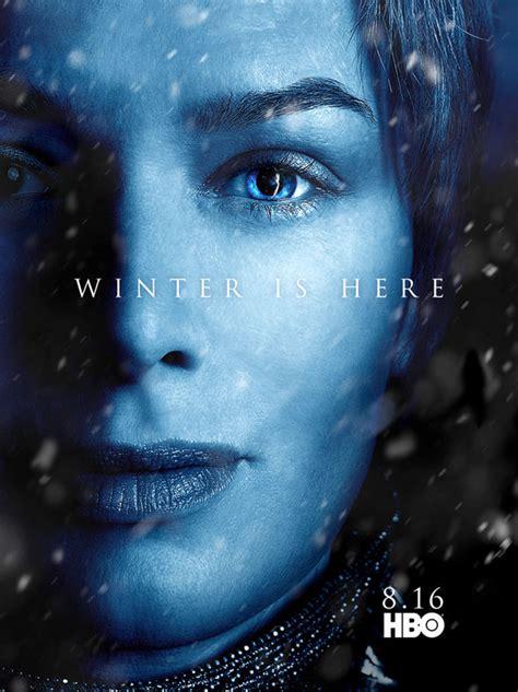 game  thrones season    posters reveal  huge