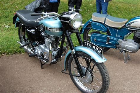 Triumph Tiger 100 by File Flickr Ronsaunders47 Triumph Tiger 100 500 Cc