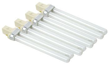 shellac uv l replacement bulbs compatible 4 pk cle250