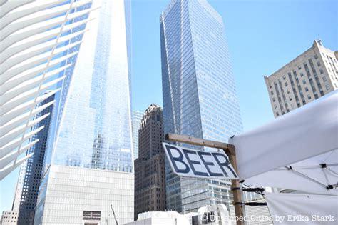 greenmarket returns  world trade center
