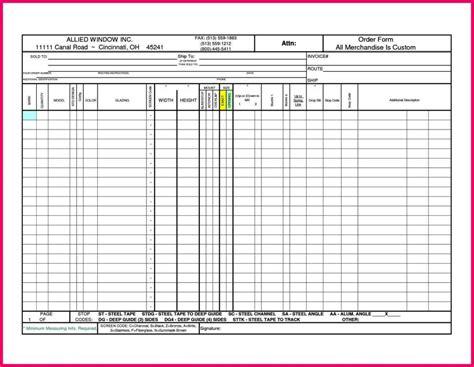 window order form template sampletemplatess