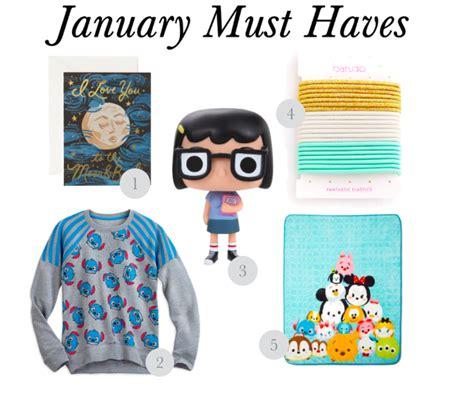 january must items