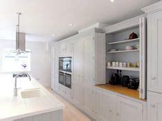 independent kitchen designer bespoke painted kitchen corner larder in a from 1826